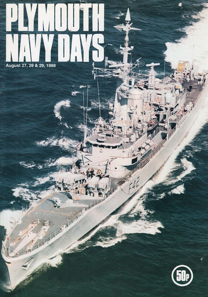 Plymouth Navy Days 1988 Vintage Programme Including Hms Frigates Submarines Ebay In 2020 Navy Day Plymouth Royal Navy Ships