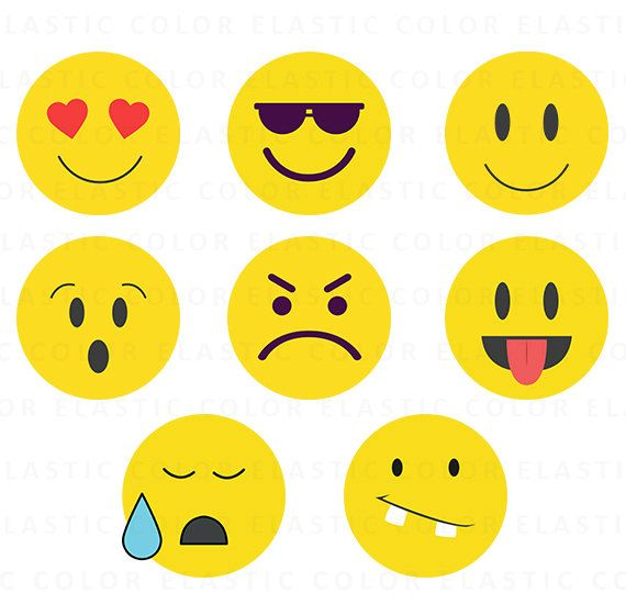 Emoji SVG archivos emoji clipart smiley face digital