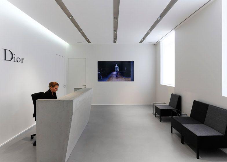 Dior Homme Occupies Extended Haussmann Building By Antonio Virga    Retailand Office Design #fashion