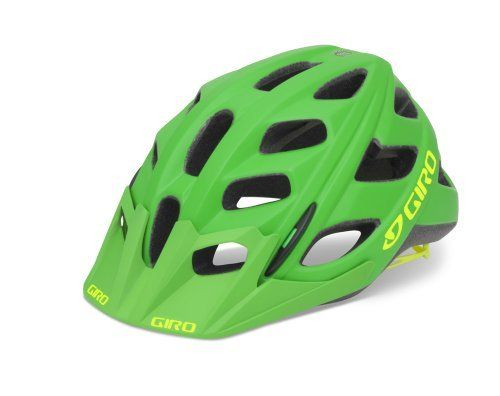 Giro Hex Cycling Helmet Matte Kellygreen Highlight Yellow Large