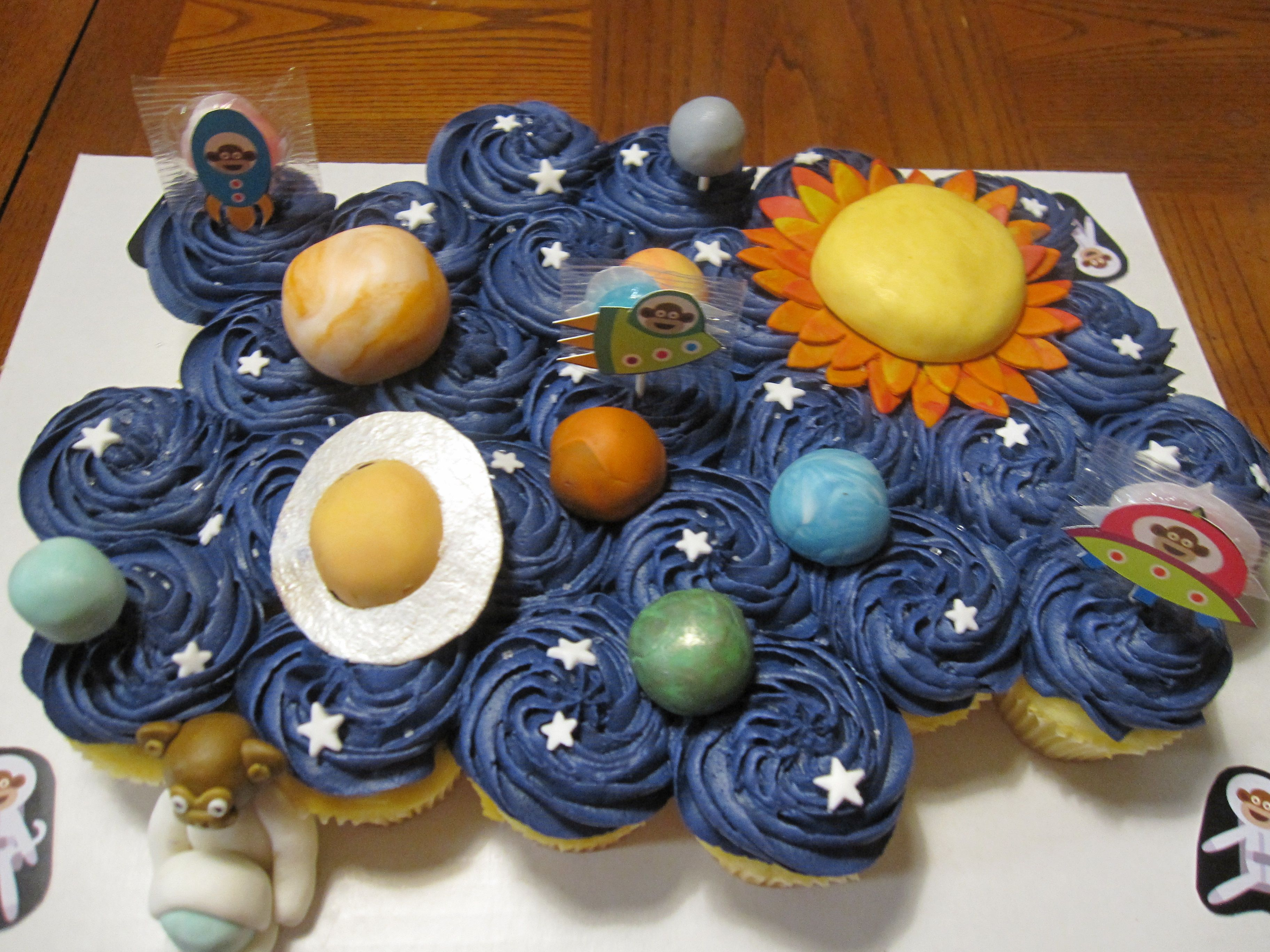 Solar System Cake For Daycare More