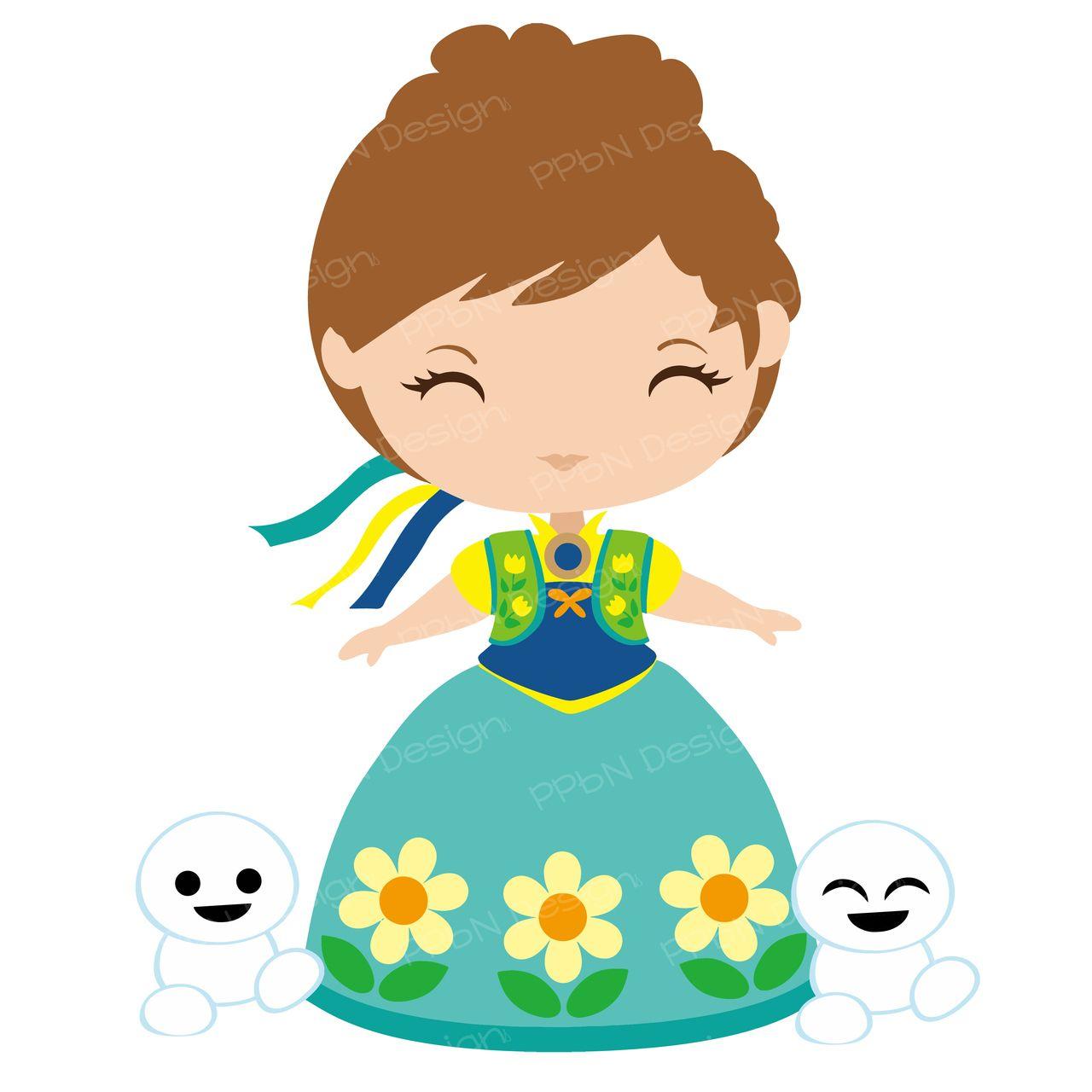 Cute princess | clip art | Pinterest | Basteln