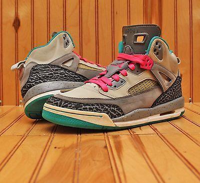 new arrival d3c31 28860 2009 Nike Air Jordan Spizike Size 7Y - Teal Grey Purple Pink - 317321 063