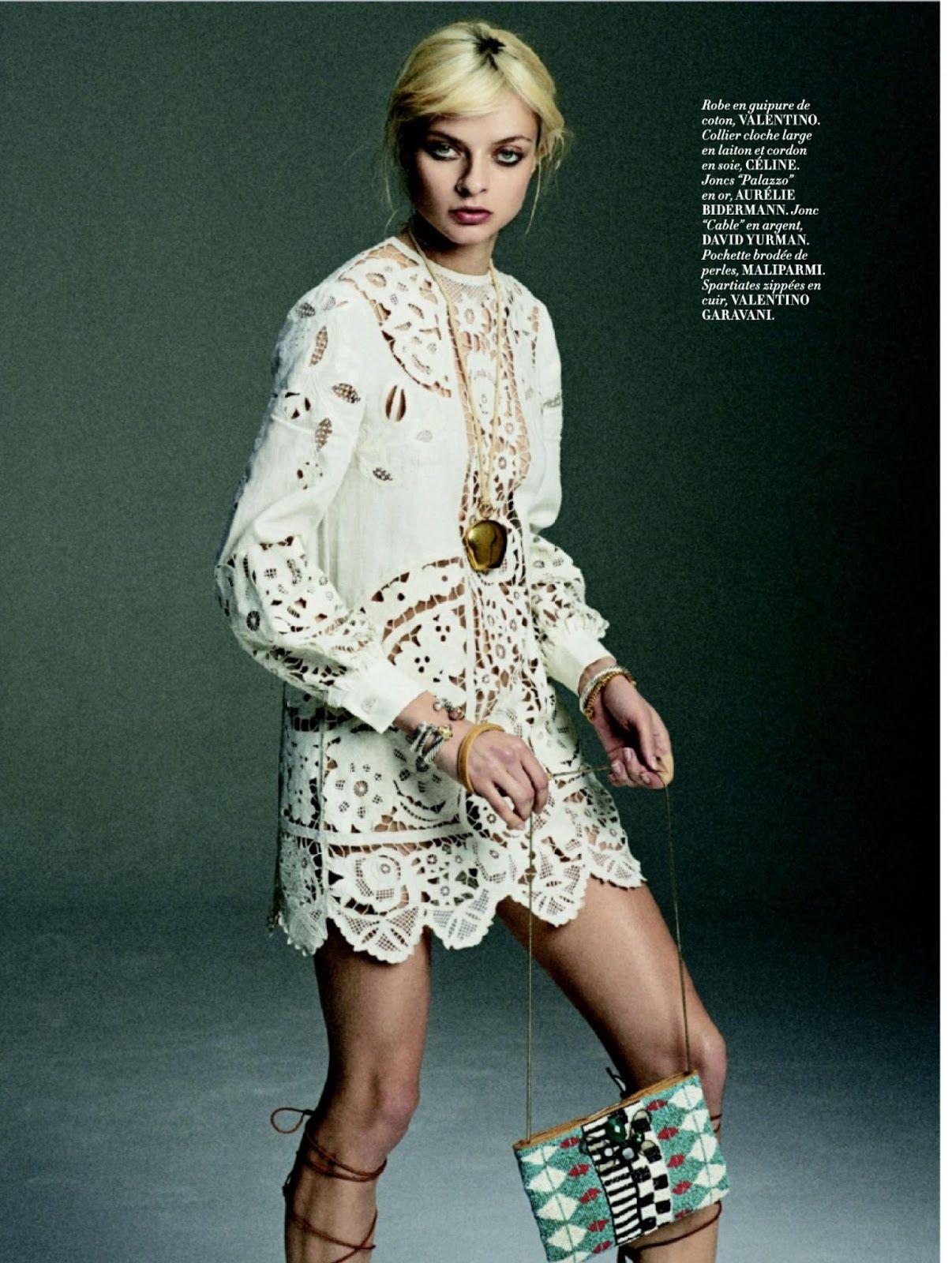 """Up & Down"" Lena Lomako for L'Officiel Paris May 2015"