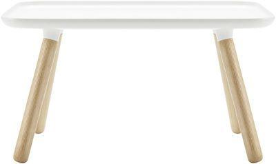 Couchtisch Tablo / 78 x 45 cm, Weiß von Normann Copenhagen finden Sie bei Made In Design, Ihrem Online Shop für Designermöbel, Leuchten und Dekoration.