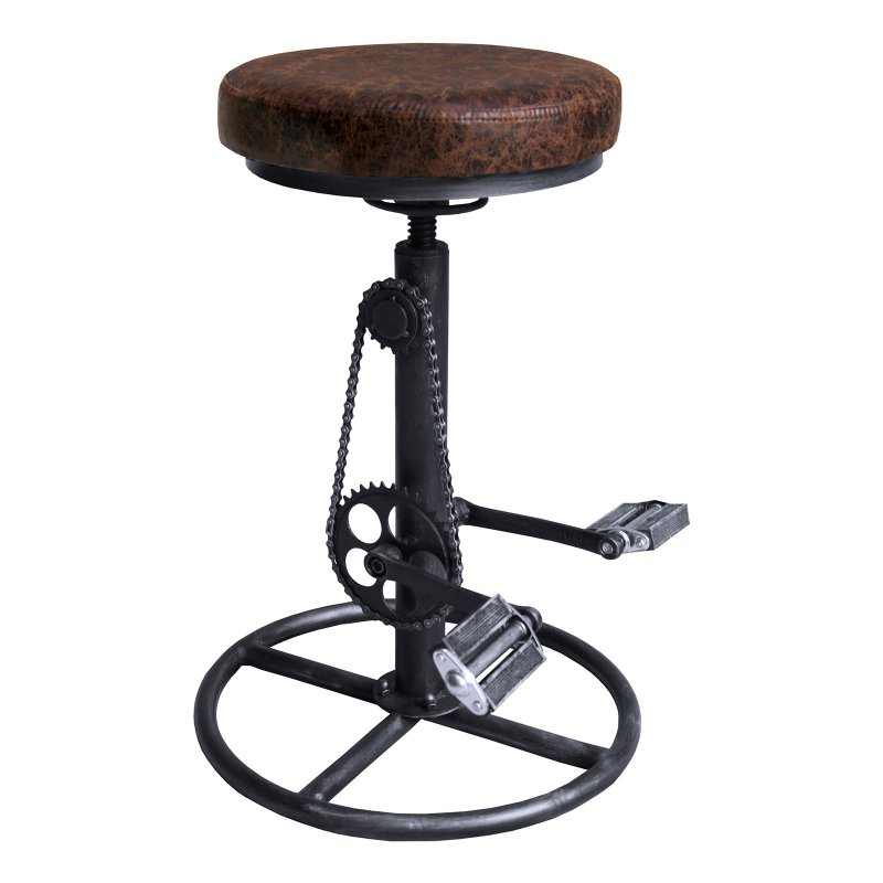 Prime Home Chic Dexter Modern Adjustable Backless Bar Stool Alphanode Cool Chair Designs And Ideas Alphanodeonline