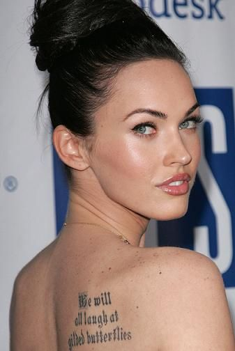 Tatouages De Megan Fox Inked Pinterest Foxes Megan Fox Lips