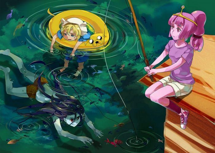 #Finn the Human, #Adventure Time, #fan art, #Princess ...