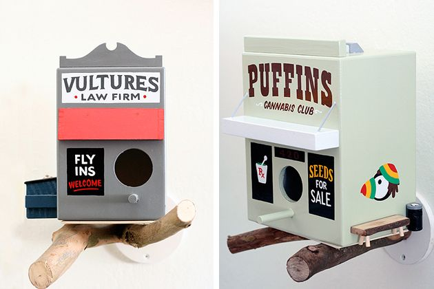 For The Birds Small Shop Birdhouses by Jeff Canham