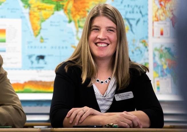 Niwot High's Andrea Smith named Colorado assistant principal of year
