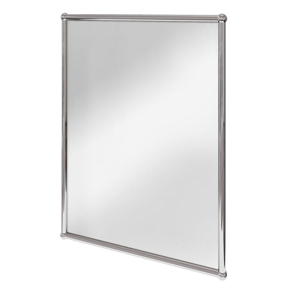 Photo Gallery For Photographers Burlington Rectangular Mirror with Chrome Frame A CHR