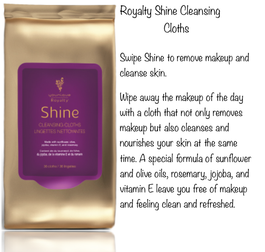 Younique Royalty Shine Cleansing Cloths Younique skin