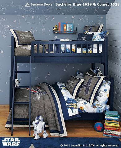 Little Boy Shared Star Wars Room Pottery Barn I Like The
