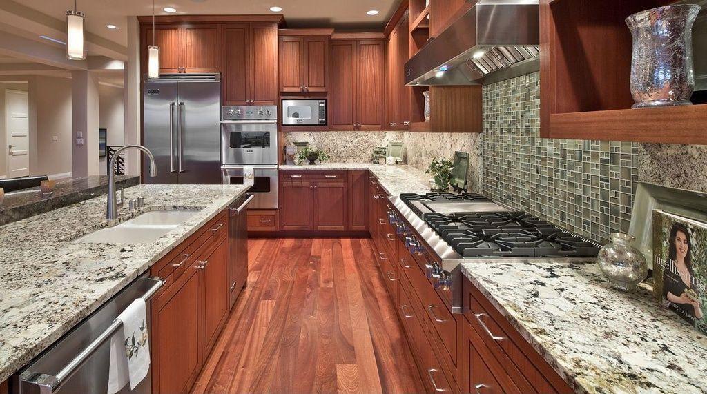 Best Craftsman Kitchen With Msi Granite Countertops In Bianco 400 x 300