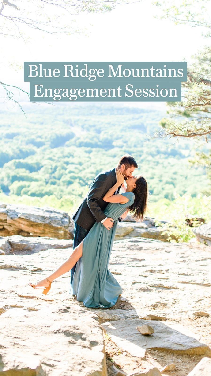 120+ Blue Ridge Mountains Engagement Session at Bear's Den