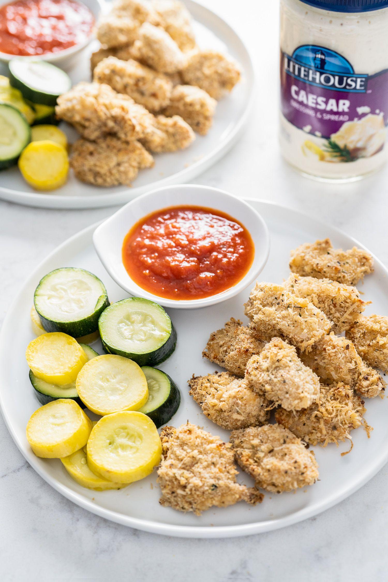 Air fryer caesar chicken nugget recipe recipe
