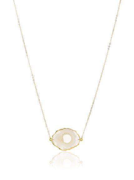 Privileged Solar Quartz Necklace