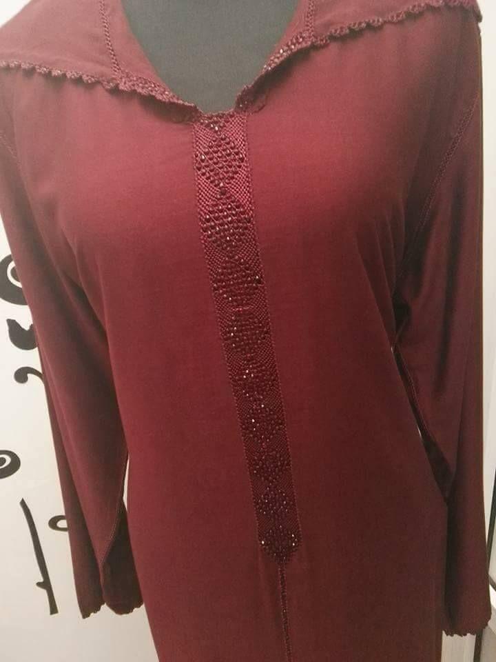 موديلات الراندة اللون في اللون أجمل الأشكال لعيونكم Randa Long Sleeve Blouse Women Fashion