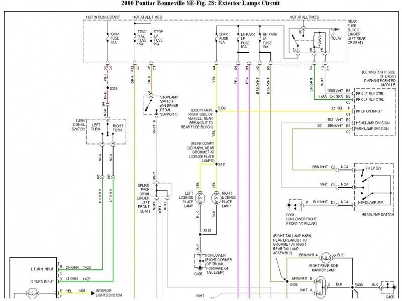 Right Turn Signal Not Working: My Right Turn Signal Doesn't | Pontiac  bonneville, Repair guide, Pontiac | Wiring Schematics 2000 Pontiac Bonneville |  | Pinterest