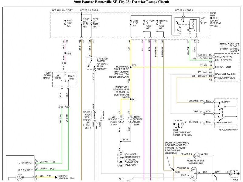 12++ Pontiac bonneville wiring diagram schematic ideas