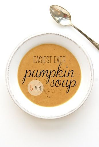 Easiest Ever Pumpkin Soup Recipe on Yummly