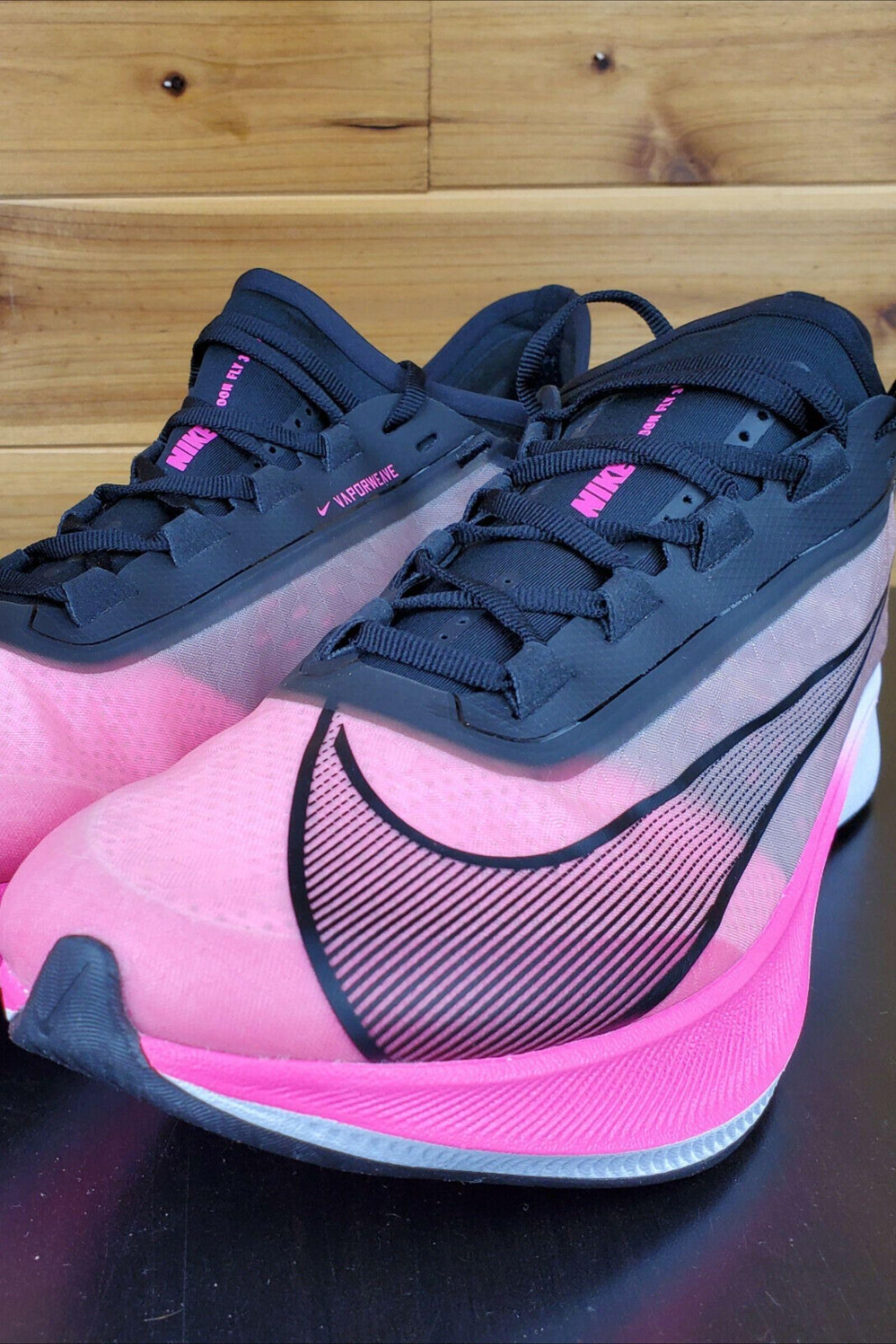evidencia Sala cortesía  Nike Zoom Fly 3 Pink Blast Black Grey VaporWeave Mens Running Shoes  AT8240-600   Running shoes for men, Running shoes, Nike zoom