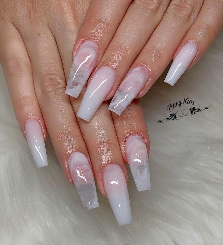 54 The Brightest Spring 2020 Nail Trends That Are So Popular Right Now Ecemella In 2020 Coffin Nails Designs Pretty Acrylic Nails Summer Acrylic Nails