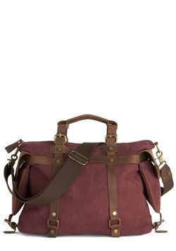 In the Event of Adventure Bag in Cabernet, #ModCloth
