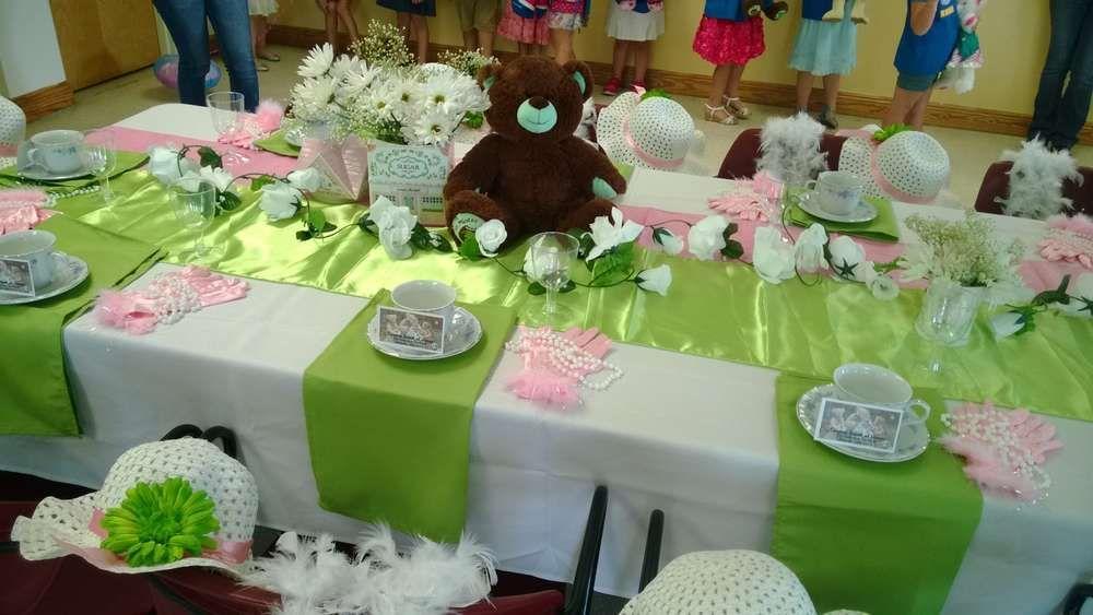 Teddy Bear Tea Tea Party Party Ideas | Tea parties, Teddy bear and Bears