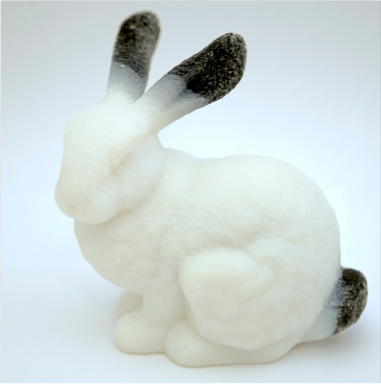 3D printed rabbit. 3D Printed Creations Pinterest