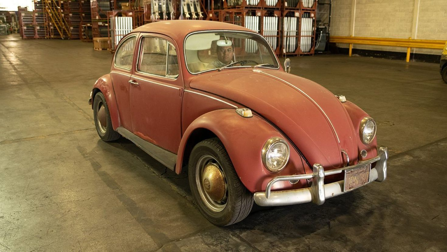 Half Century Old Vw Beetle Found And Fixed Up Vw Beetles Vw Fox