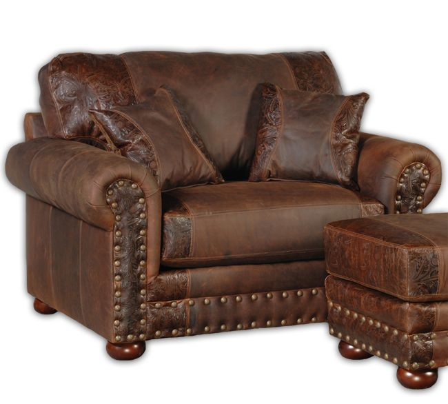 leather living room chair oversized chair furniture 12120