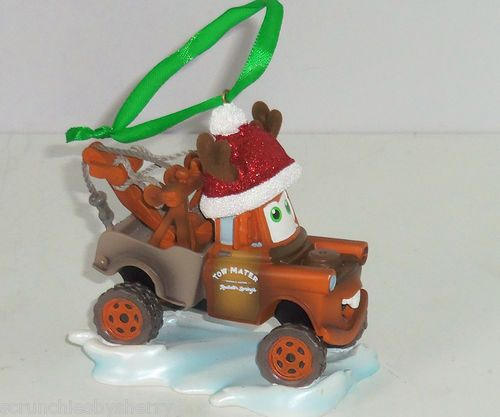 Disney Cars Tow Mater Ornament Christmas Tree Holiday ...