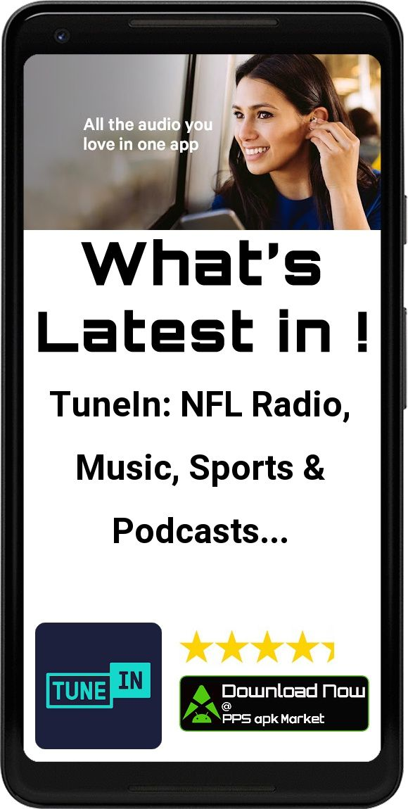 TuneIn NFL Radio, Music, Sports & Podcasts App Free