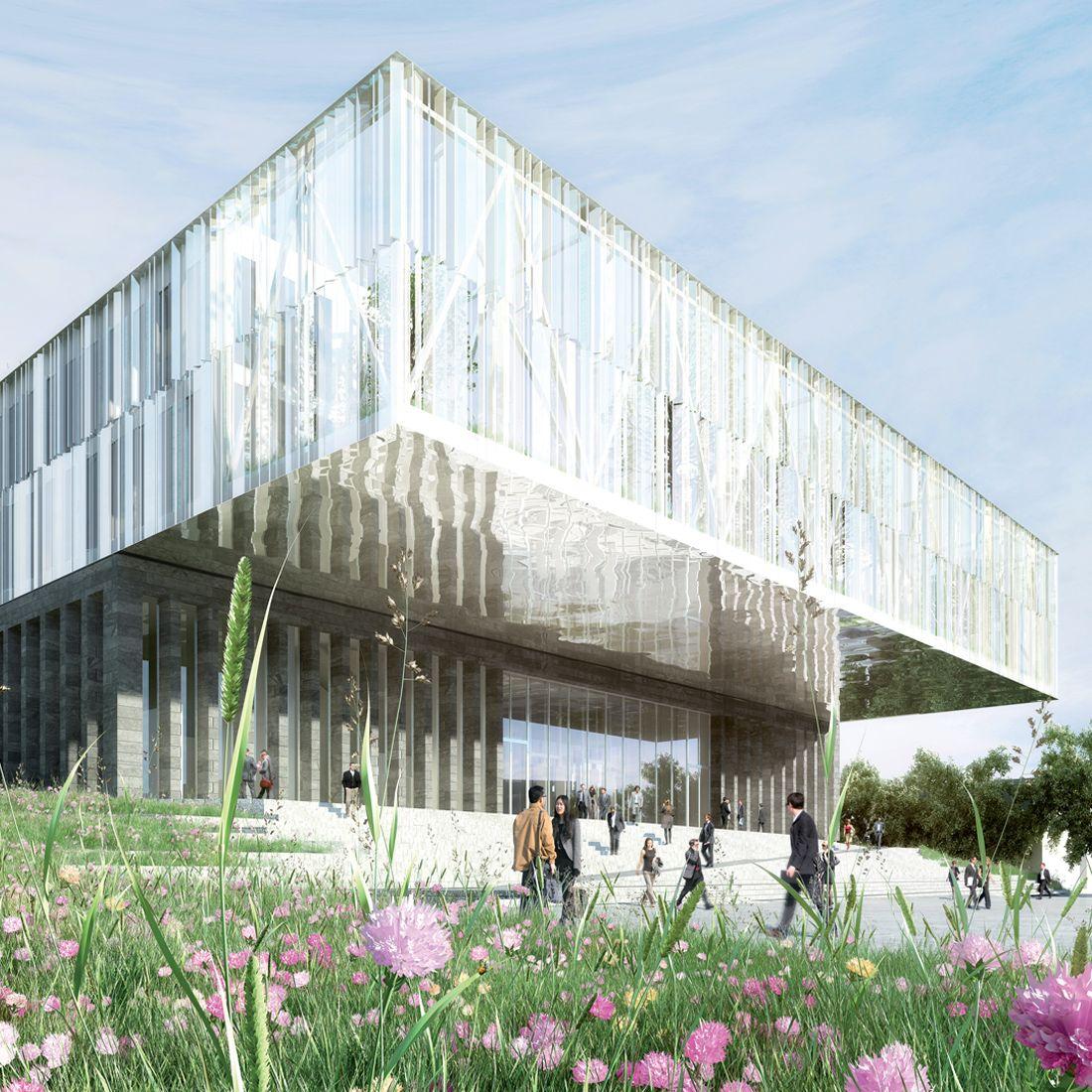 Cabinet D Architecte Caen palais de justice de caen | brenac & gonzalez et associés