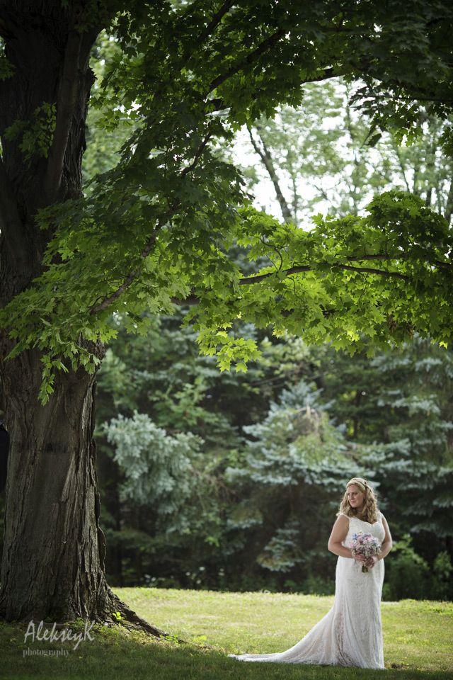 Creative Bride Outdoor Portrait Wedding Day Ideas Buffalo Photographer