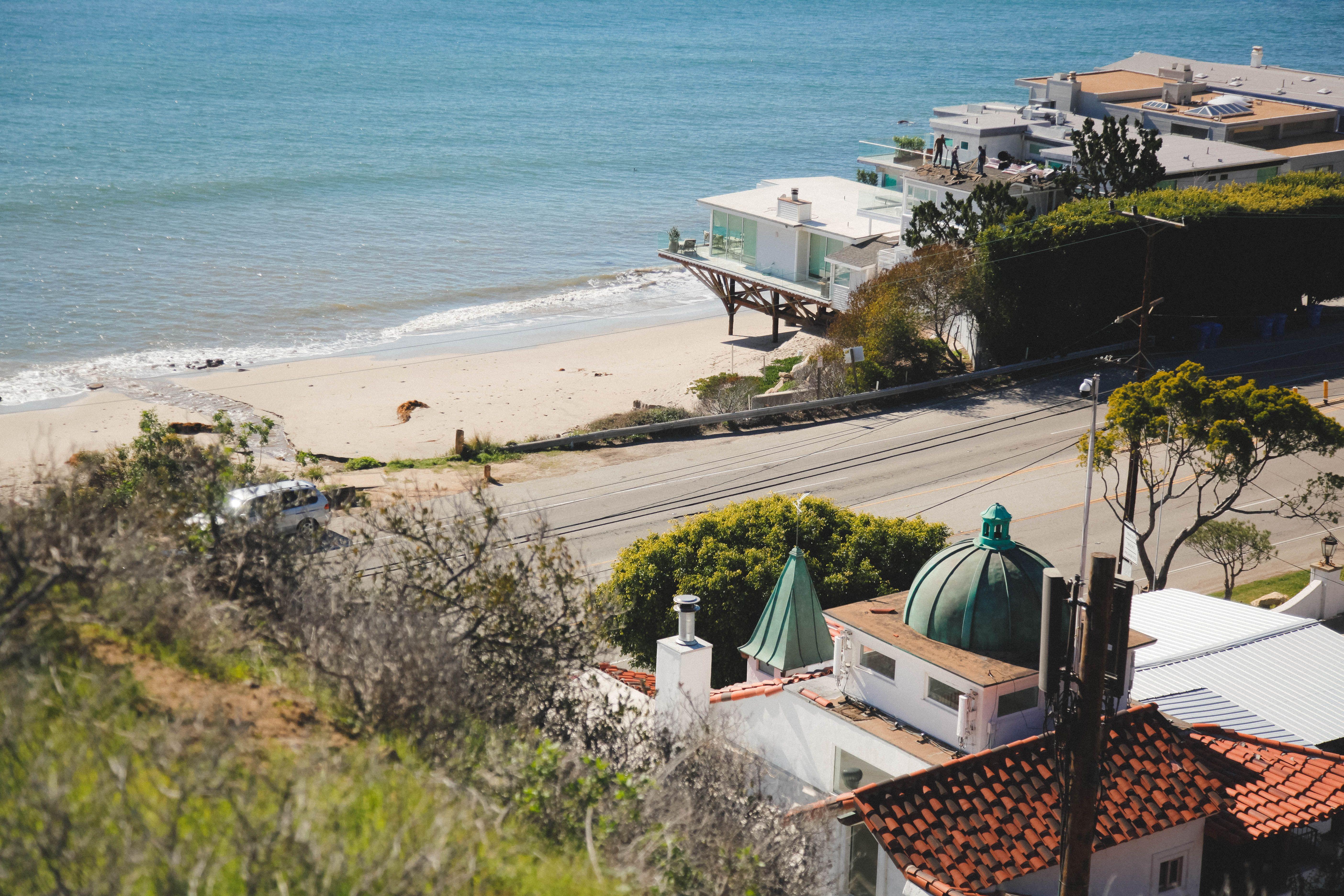 Overlooking The Calamigos Beach Club Malibu Ca Calamigos Guest