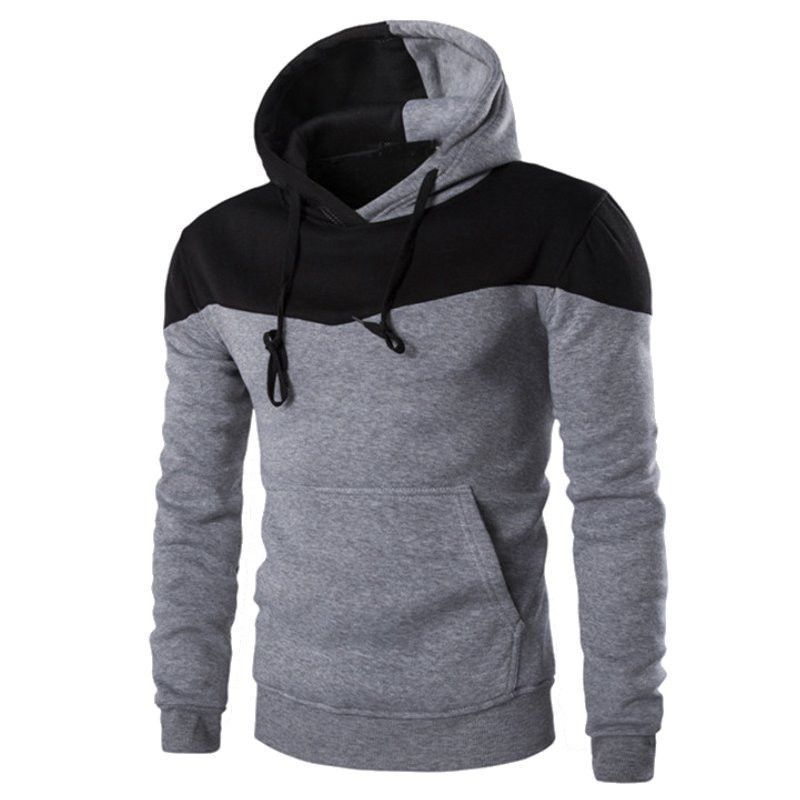 Description Sleeve Length: Full Thickness: Standard Closure Type: None Sleeve Style: Regular Collar: Turtleneck Material: Cotton,Polyester Clothing Length: Regular Pattern Type: Patchwork Hooded: Yes