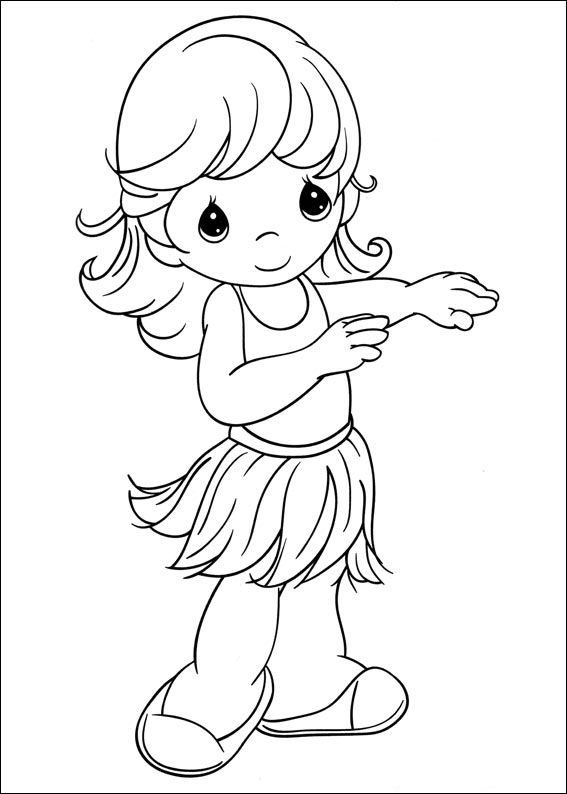 Coloring Page Precious Moments Kids N Fun Adult Coloring