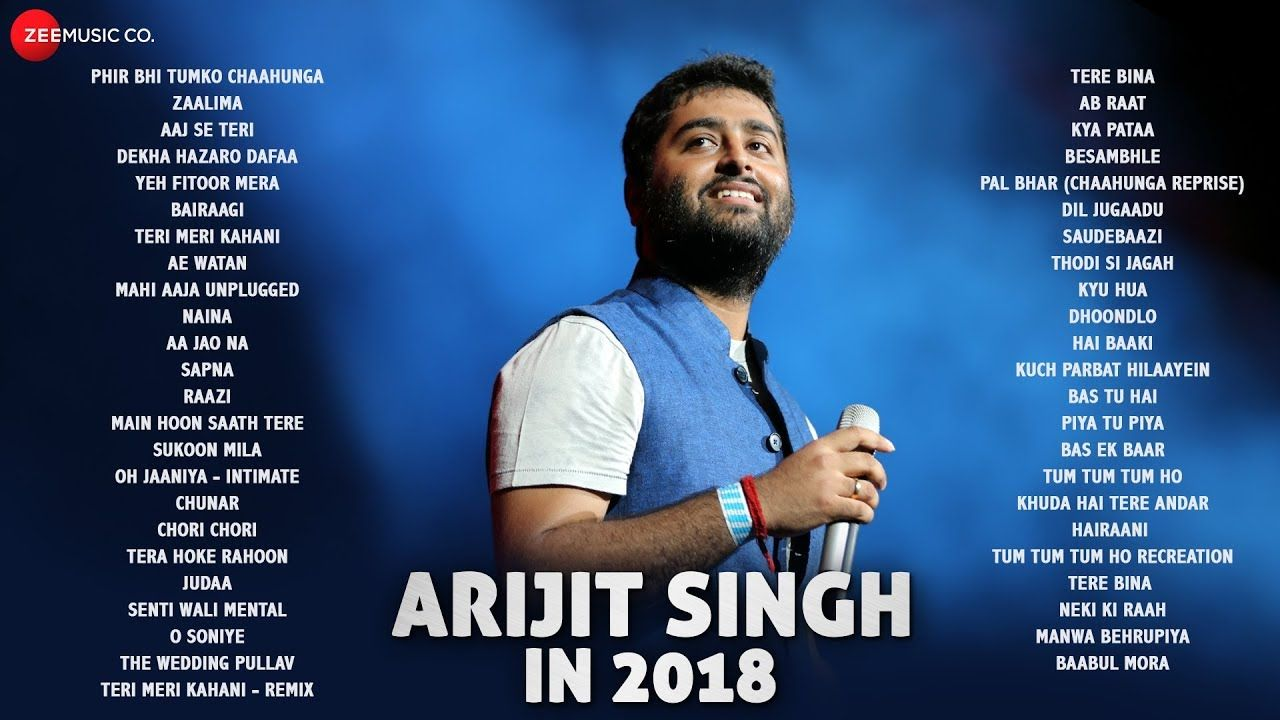 Arijit Singh in 2018 Audio Jukebox 47 songs YouTube