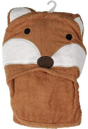 Mainstays Kids Woodland Creatures Hooded Towel Products
