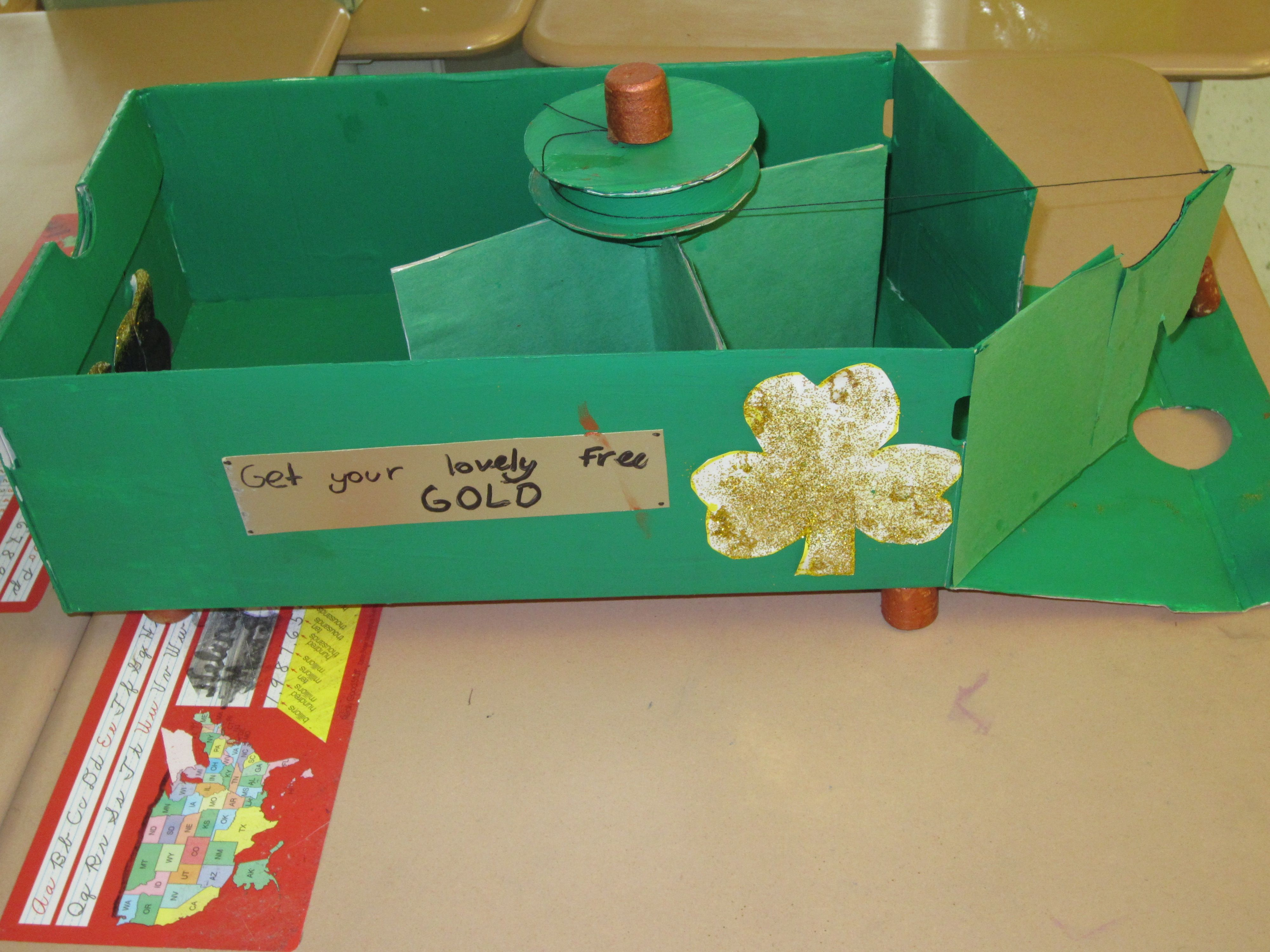 Simple machines project ideas - Leprechaun Traps Simple Machines Kruses Doing Their Personal Best