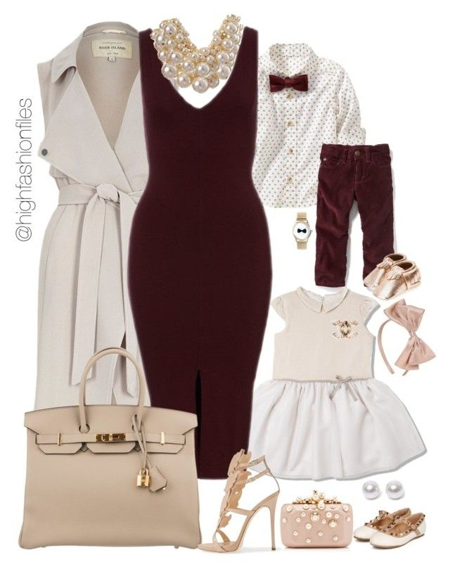"""Modern Mom!!"" by highfashionfiles ❤ liked on Polyvore featuring Aamaya by priyanka, Forever 21, Old Navy, River Island, Hermès, Giuseppe Zanotti, Freshly Picked, Elie Saab, Betty Jackson and Nouv-Elle"
