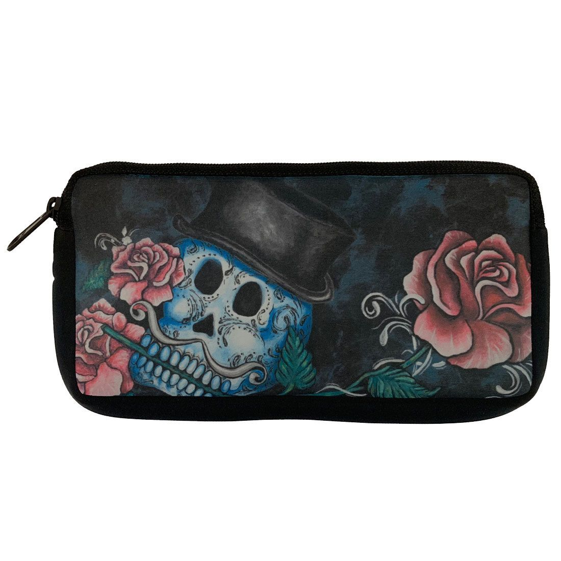 406e78cab Skulls And Roses, Cosmetic Bag, Halloween Music, Coin Purses, Scarfs, Pouch
