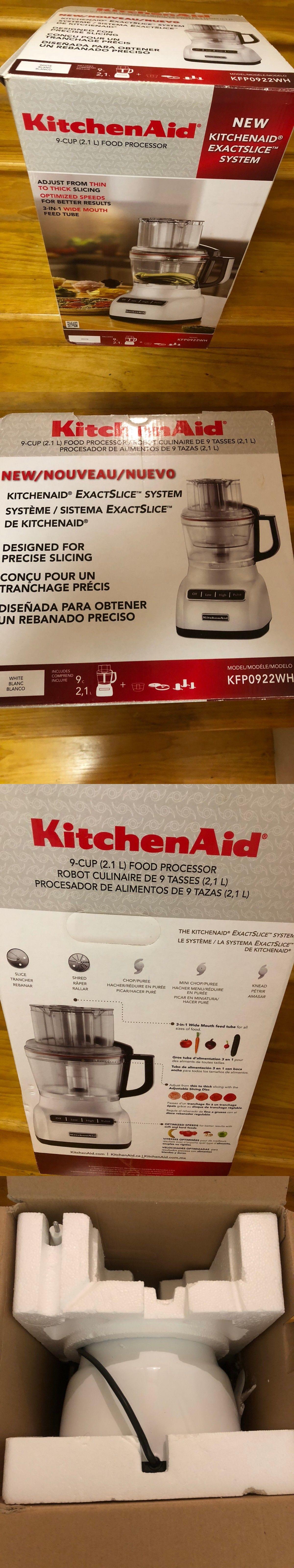 Food processors 20673 kitchenaid kfp0922wh 9cup food