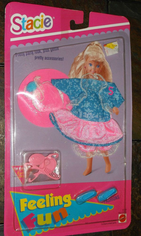 Dawn Doll Brush and Comb Pink  Mirror