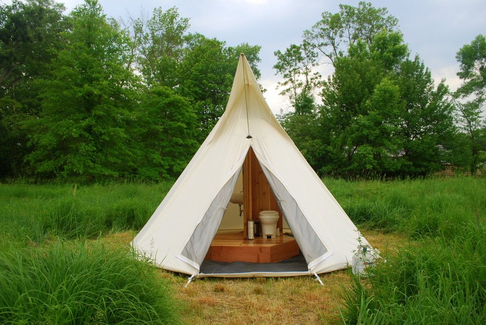 Items similar to Portable Gl&ing Bathroom - The TipiBath™ on Etsy & Tipi Event tent Tent Bathroom rental Glam Camping best tents ...