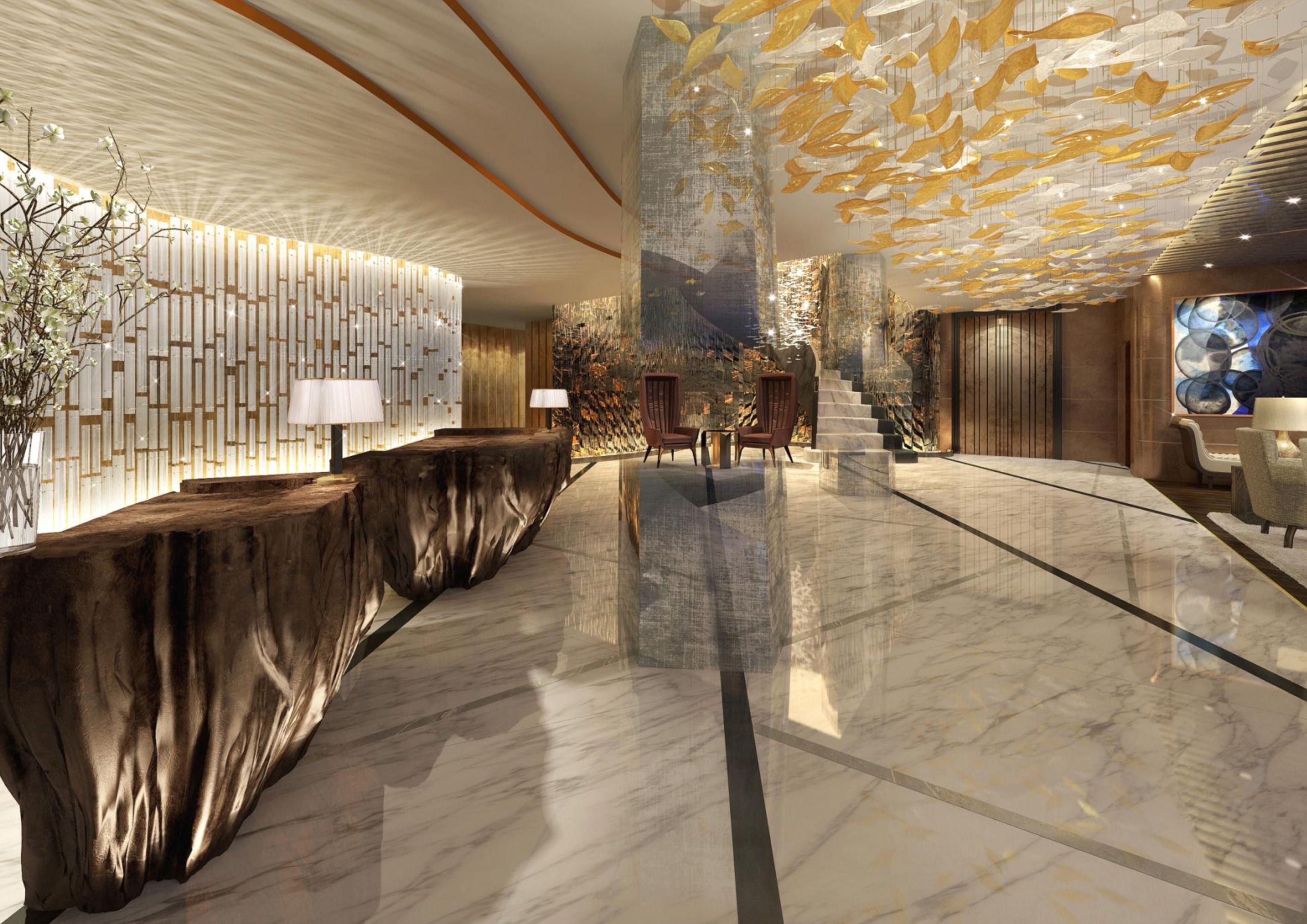 Hotel Atlantis By Giardino Zurich Switzerland Entrance Hall