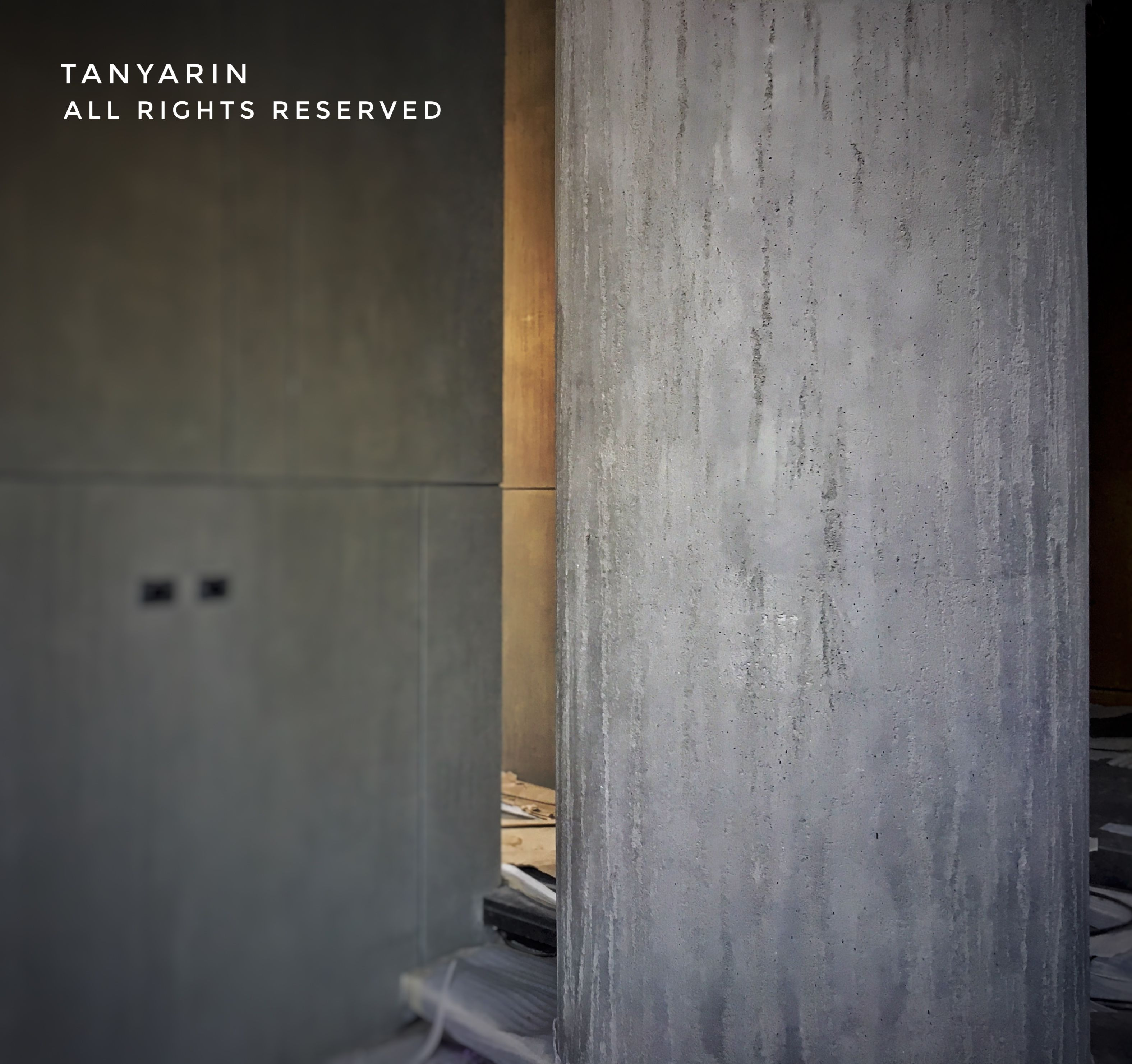 tanyarin created armourcoat travertine surface as concrete style