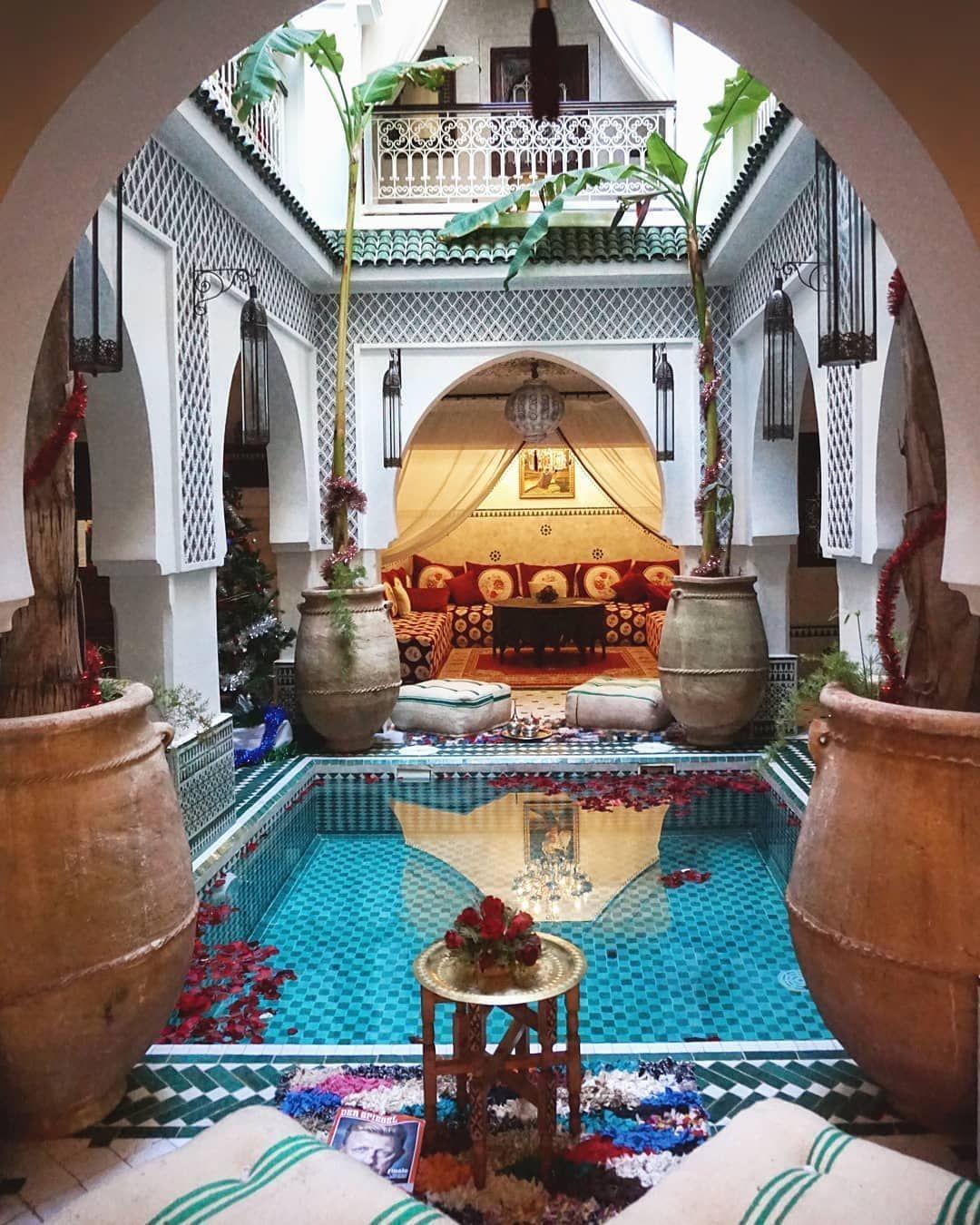 Riad Jemaa El Fna Riad Spa Marrakech Morocco Moroccan Riad Moroccan Interiors House Styles